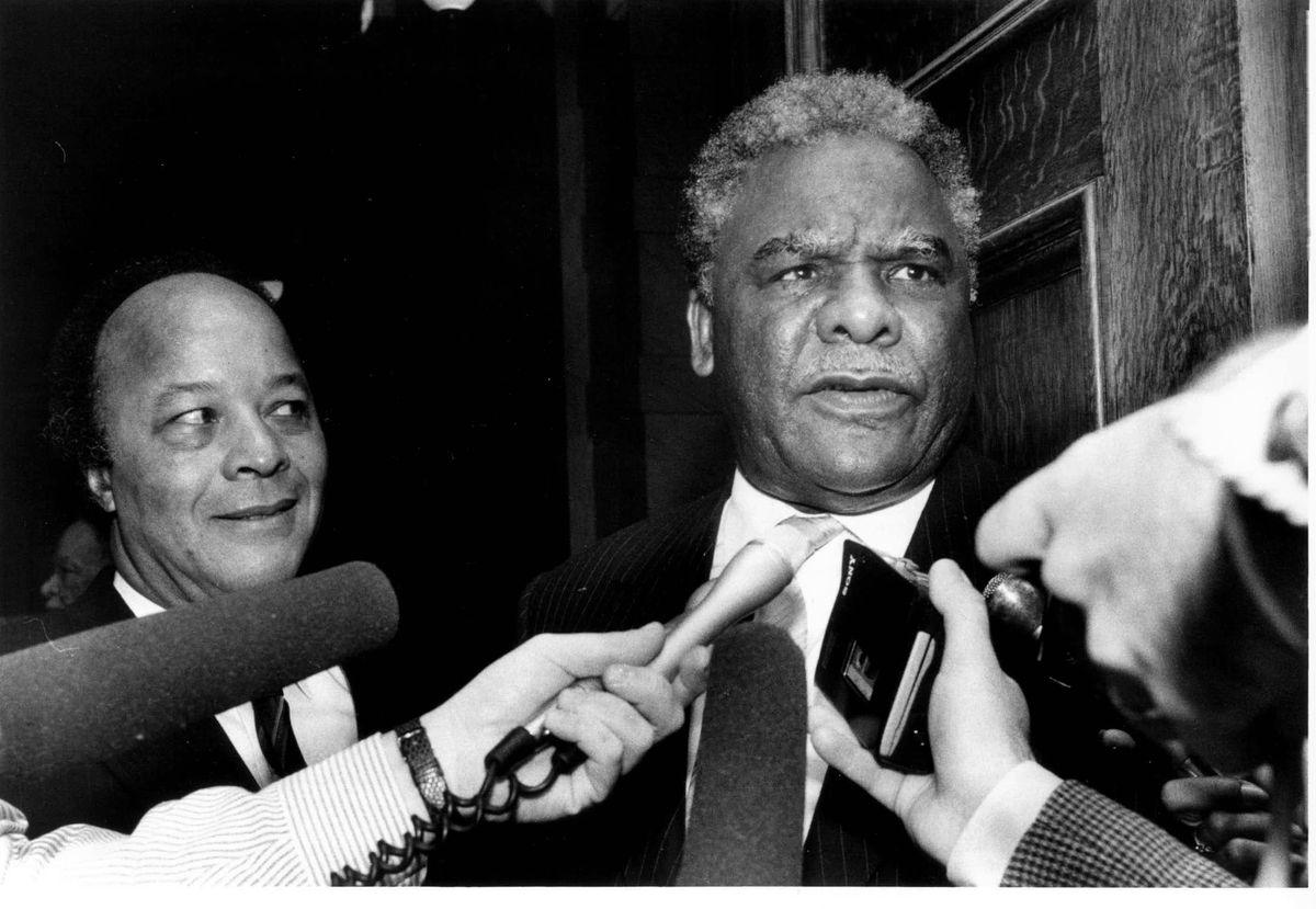 Mayor Harold Washington. File Photo.