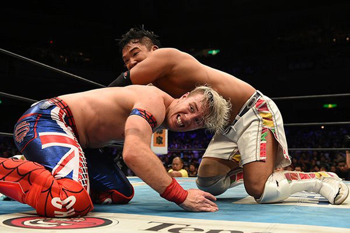 "Résultat de recherche d'images pour ""kushida vs will ospreay njpw king of pro wrestling"""