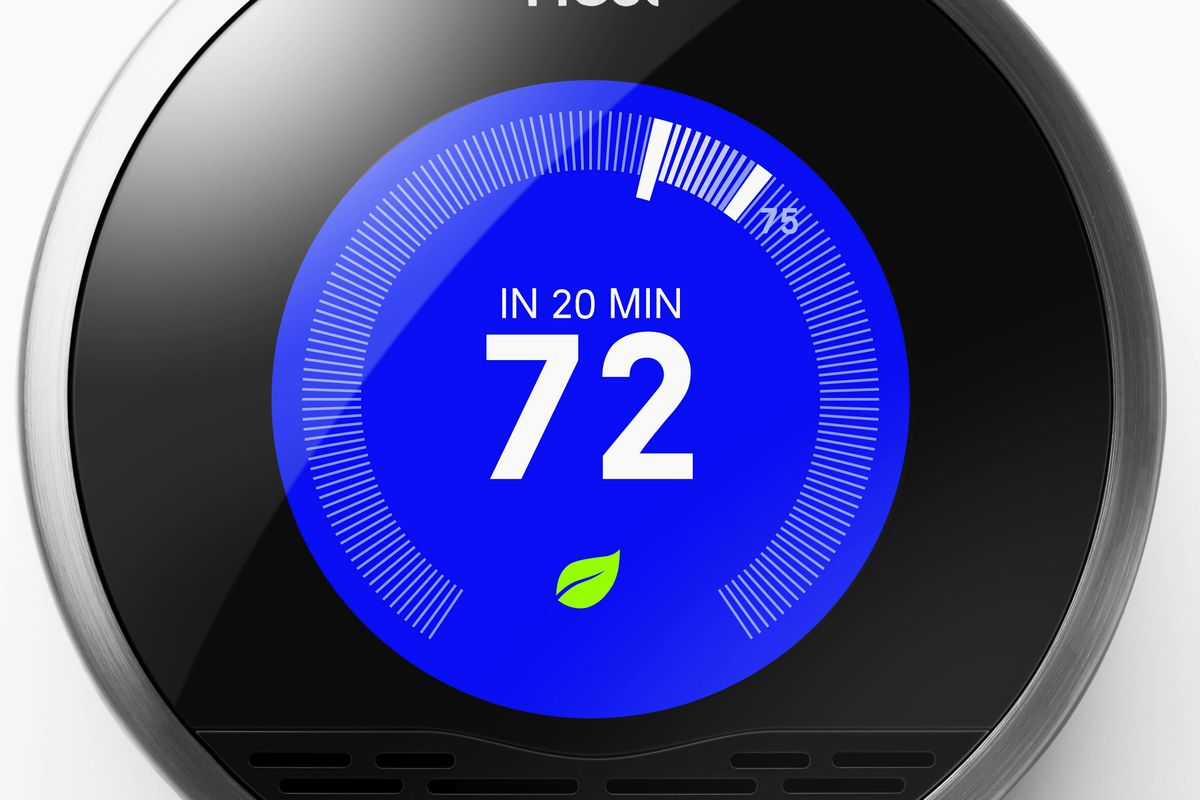 """Nest Learning Thermometer, <a href=""""http://store.apple.com/us/product/HA895LL/A/nest-learning-thermostat-2nd-generation"""">$250</a>"""