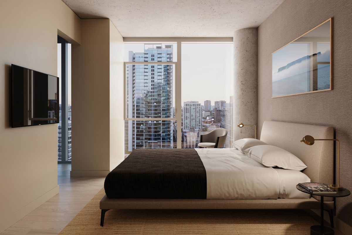 Inside River North S Upcoming 3eleven Apartments Curbed Chicago