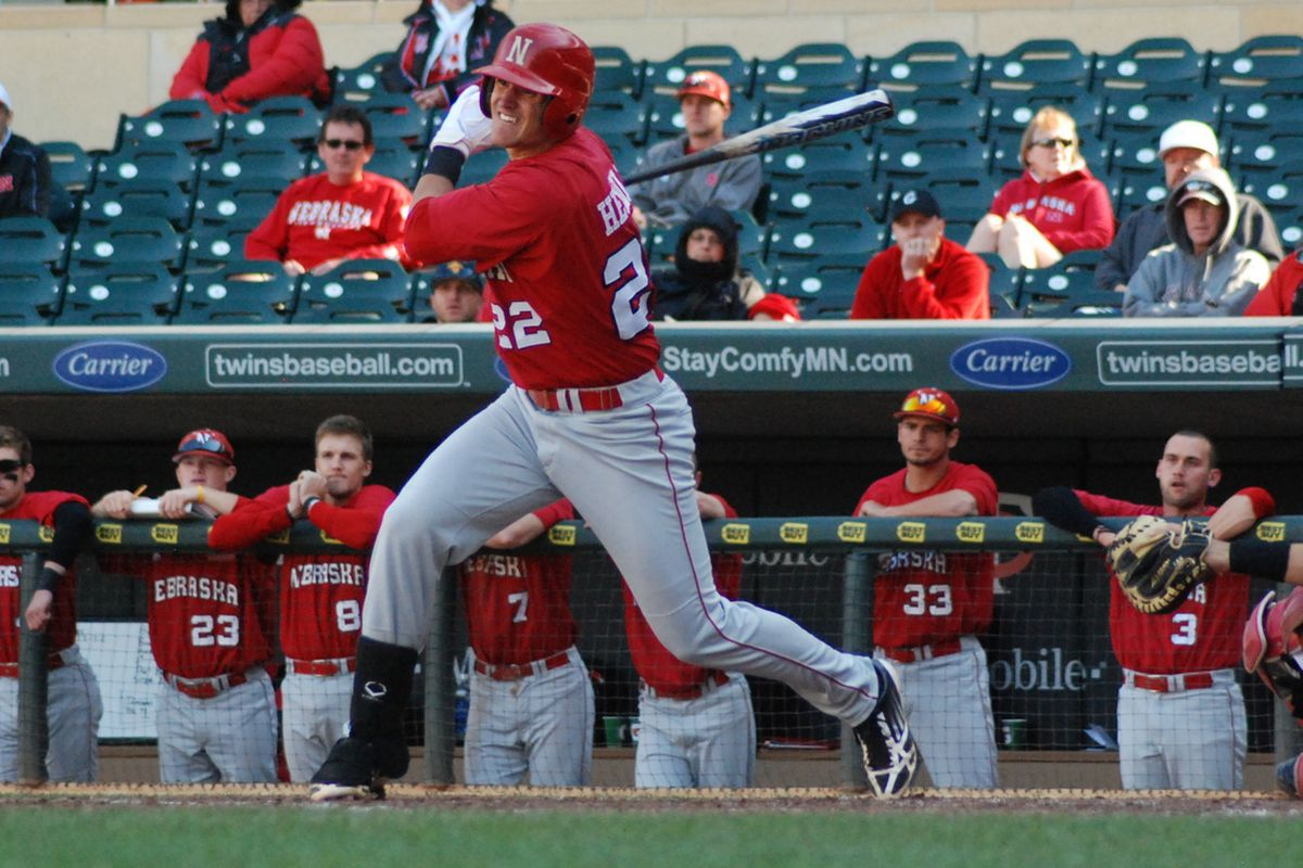 Blake Headley's late dramatics pushed the Huskers past the Cougars in the nightcap.