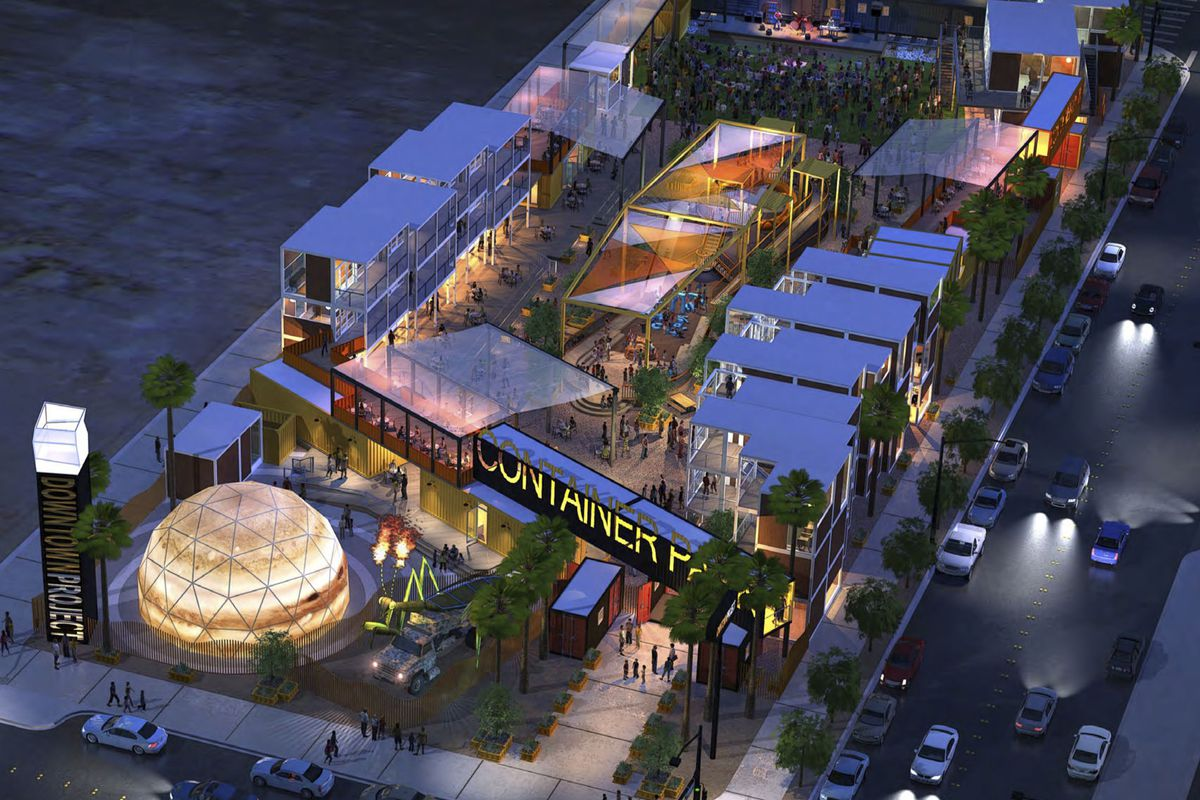 Rendering via the Downtown Project