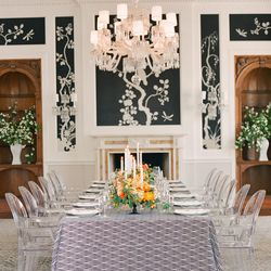 """For a glamorous, urban setting, The <a href=""""http://www.fairmont.com/san-francisco/promotions/fairmont-san-francisco-penthouse-suite/"""">Fairmont's Penthouse</a>: 950 Mason Street, San Francisco (415 772 5000); photo via <a href=""""http://snippetandink.com/bl"""