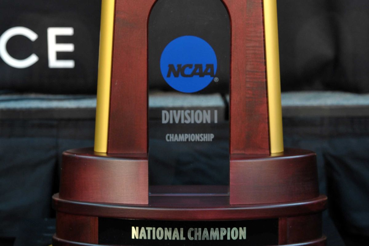 Can Texas end the season hoisting this trophy?