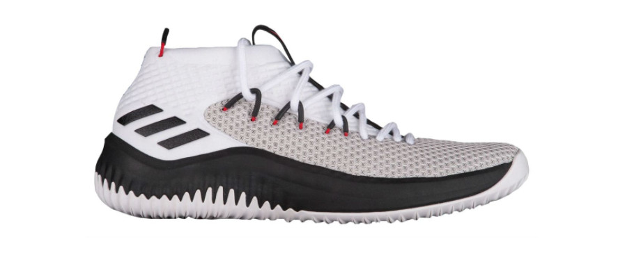 sneakers for cheap 13388 c09a2 Lillard is expected to drop the Dame 4 in October. Its a mid-top shoe with  Adidas Bounce cushioning in its soles (image via Sole Collector).