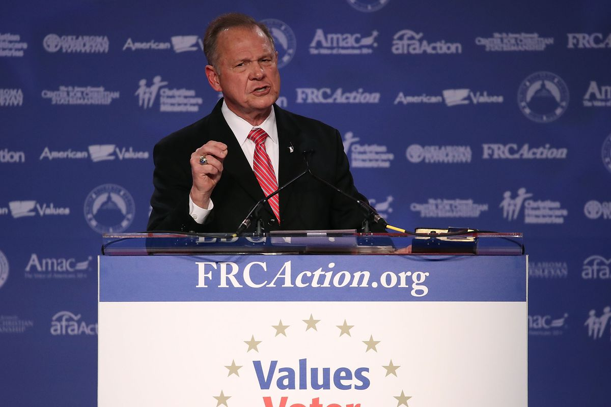 Roy Moore: Marriage Equality Worse Than Ruling Upholding Slavery
