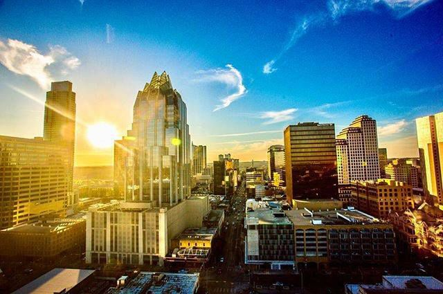 Photo of Austin downtown view