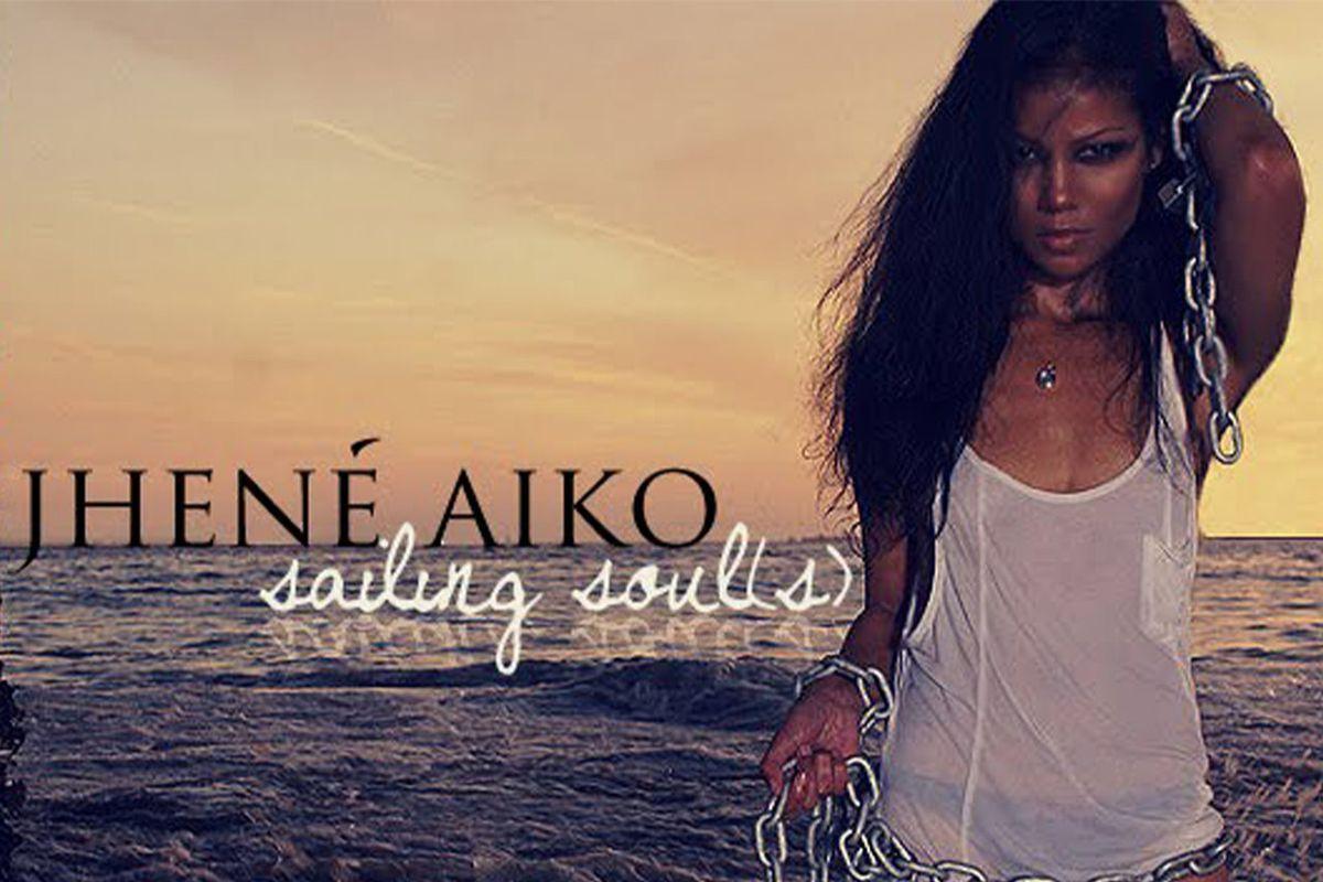 "Jhené Aiko's ""Sailing Soul(s)"" artwork"