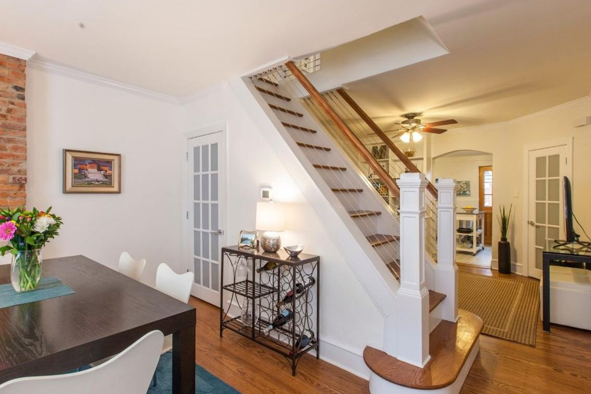 North Philly Townhouse Asking 359 000 Puts Staircase