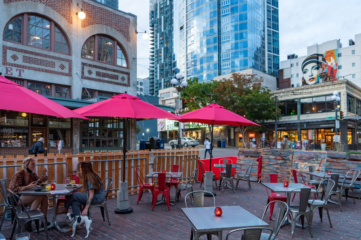 Seattle Extends Free Outdoor Seating Permits For Restaurants Until October 2021 Eater Seattle