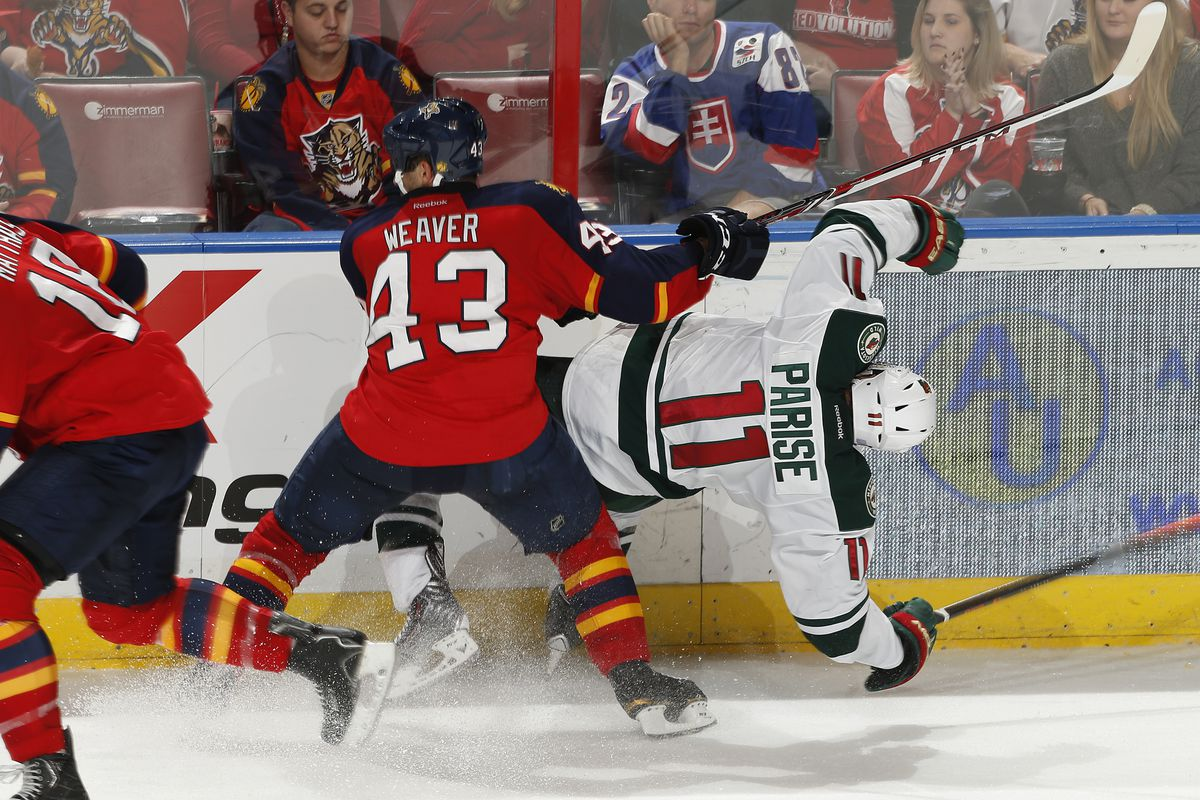 It was that kind of night when the Florida Panthers and Minnesota Wild last met.