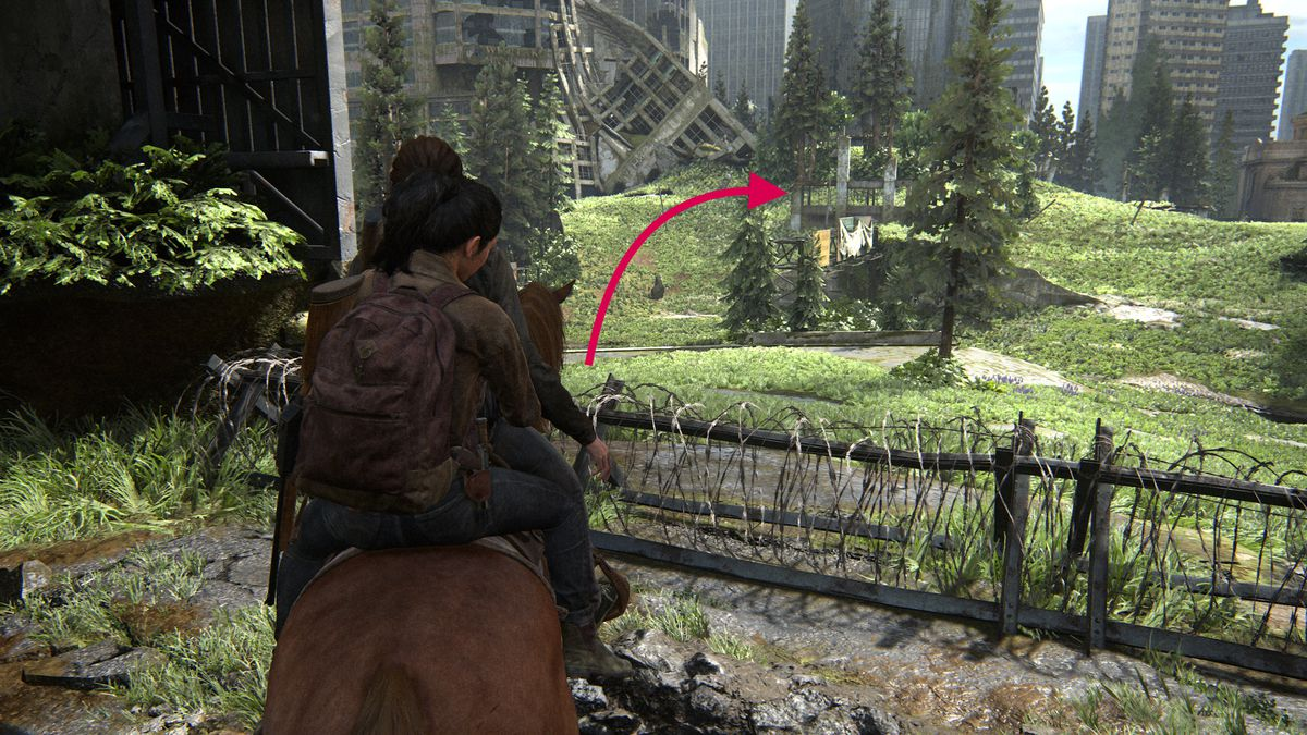 The Last of Us Part 2 Seattle Day 1 Ellie Downtown Cache Hunter Note Artifact collectible