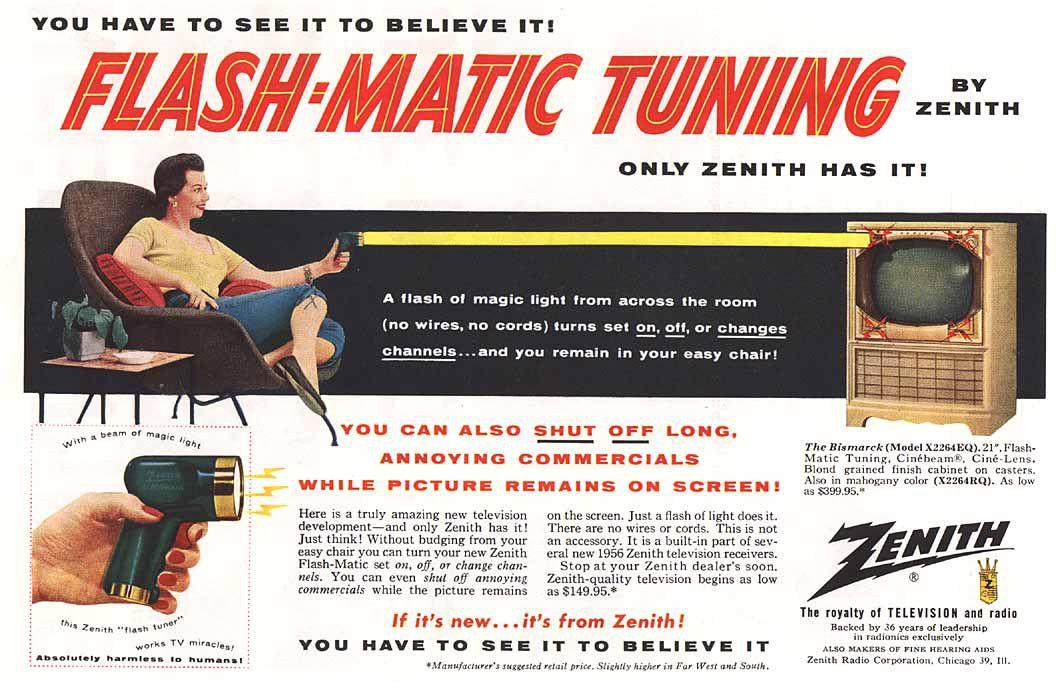 Zenith remote control