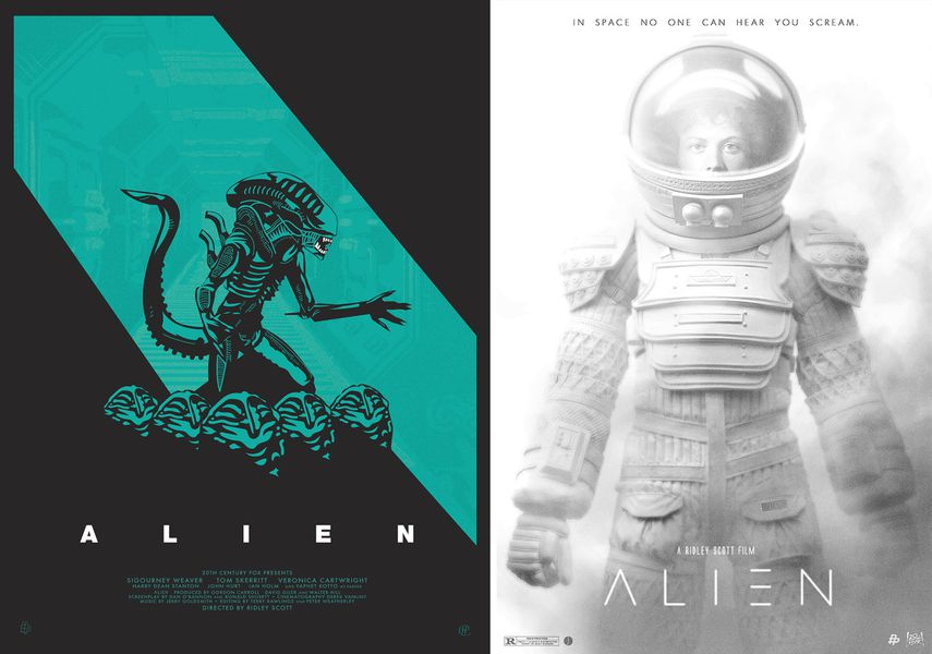 35th anniversary alien posters the verge