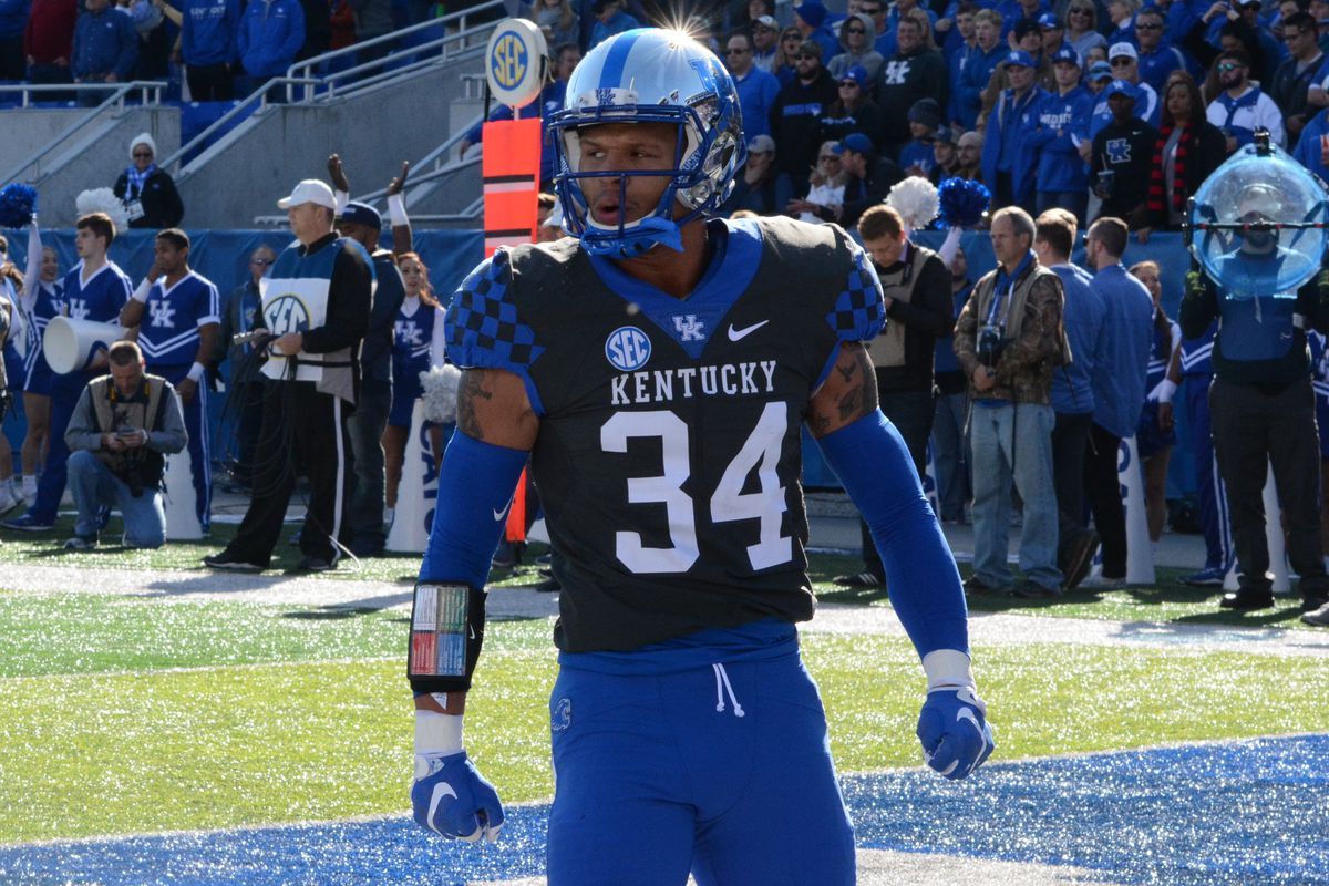 bbd21025e412 UK Wildcats Football Position Breakdown  Linebackers - A Sea Of Blue
