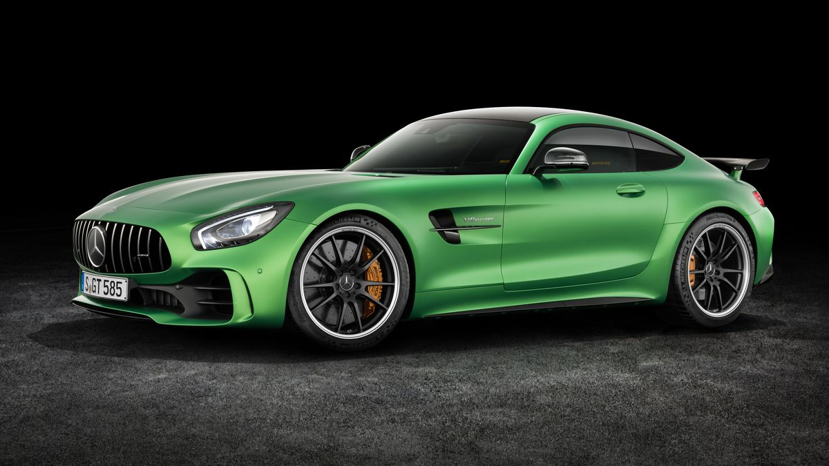 The New Amg Gt R Is Mercedes Benzs Most Sports Car