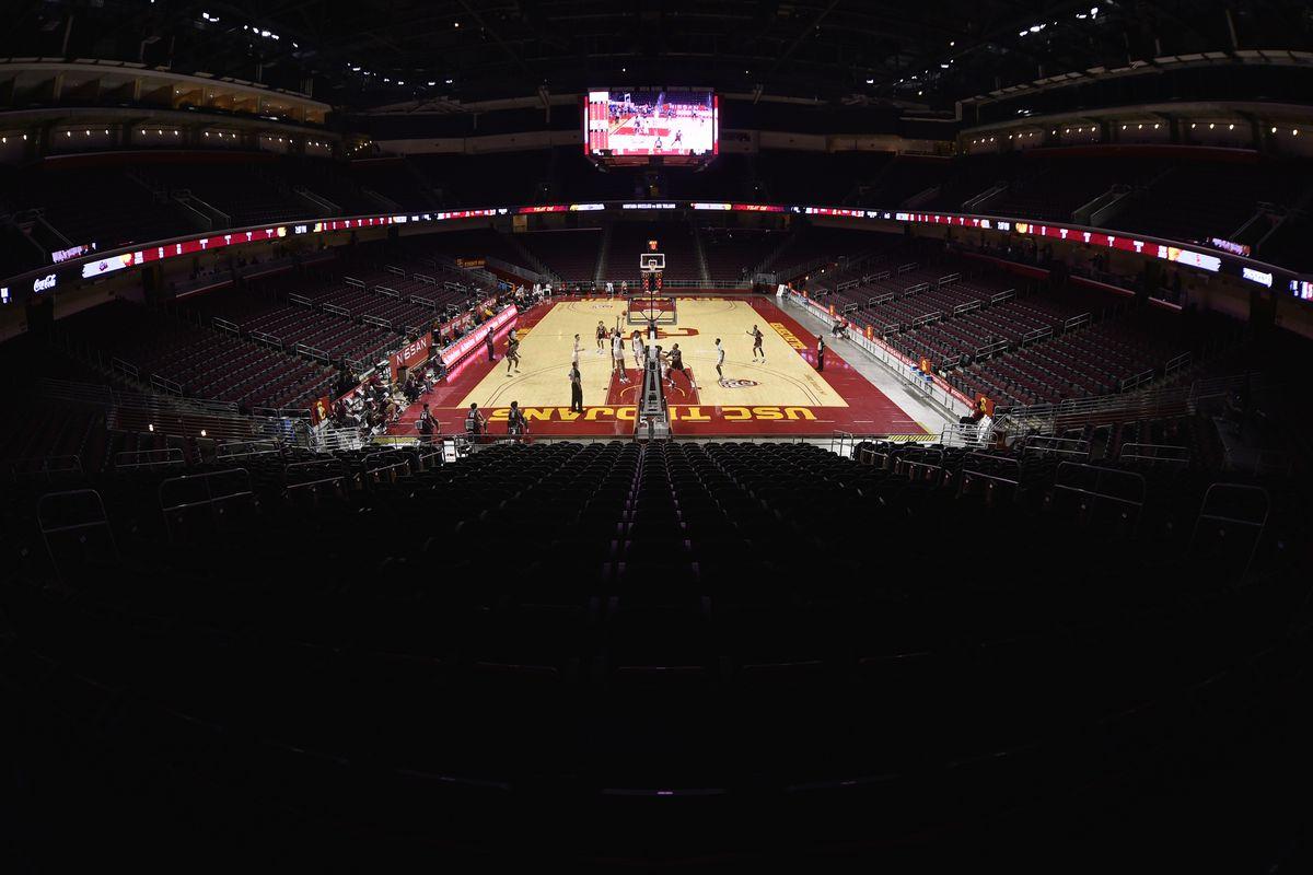 NCAA Basketball: Montana at Southern California