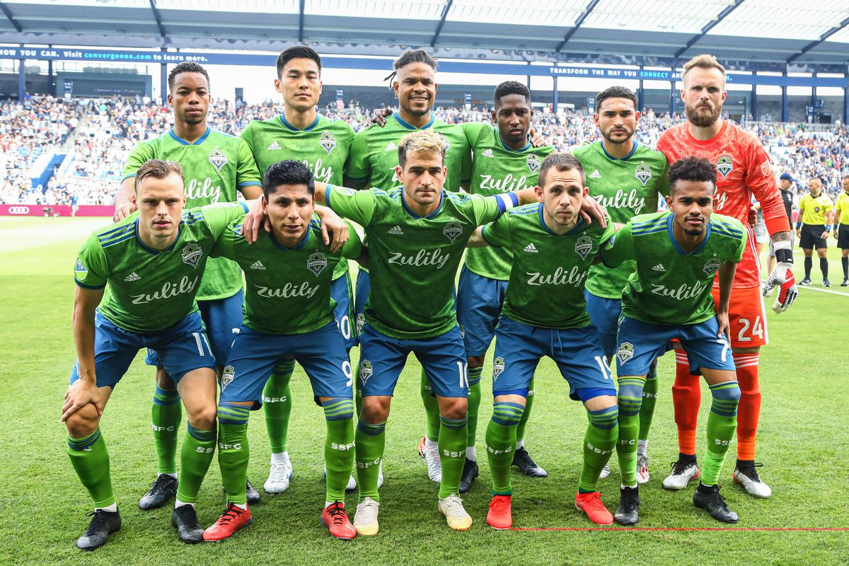 MLS: Seattle Sounders FC at Sporting Kansas City