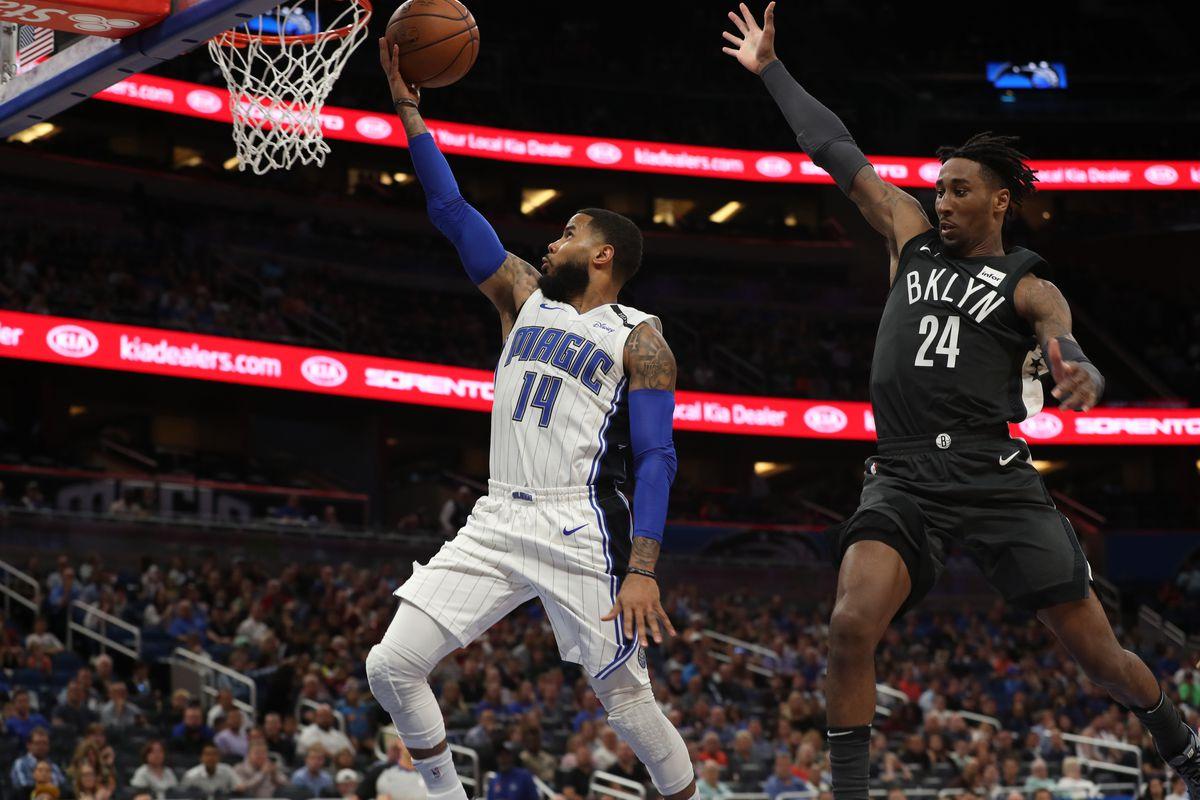 NBA: Brooklyn Nets at Orlando Magic