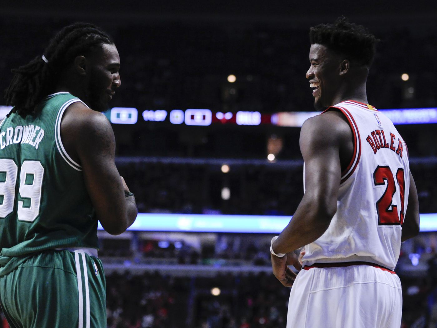 Utah Jazz S Jae Crowder Keeps Close Ties With College Teammate Jimmy Butler Amid Minnesota Timberwolves Saga Deseret News