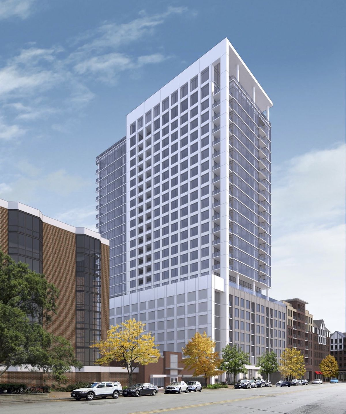 High-rise Proposal For Downtown Evanston Could Go Condo