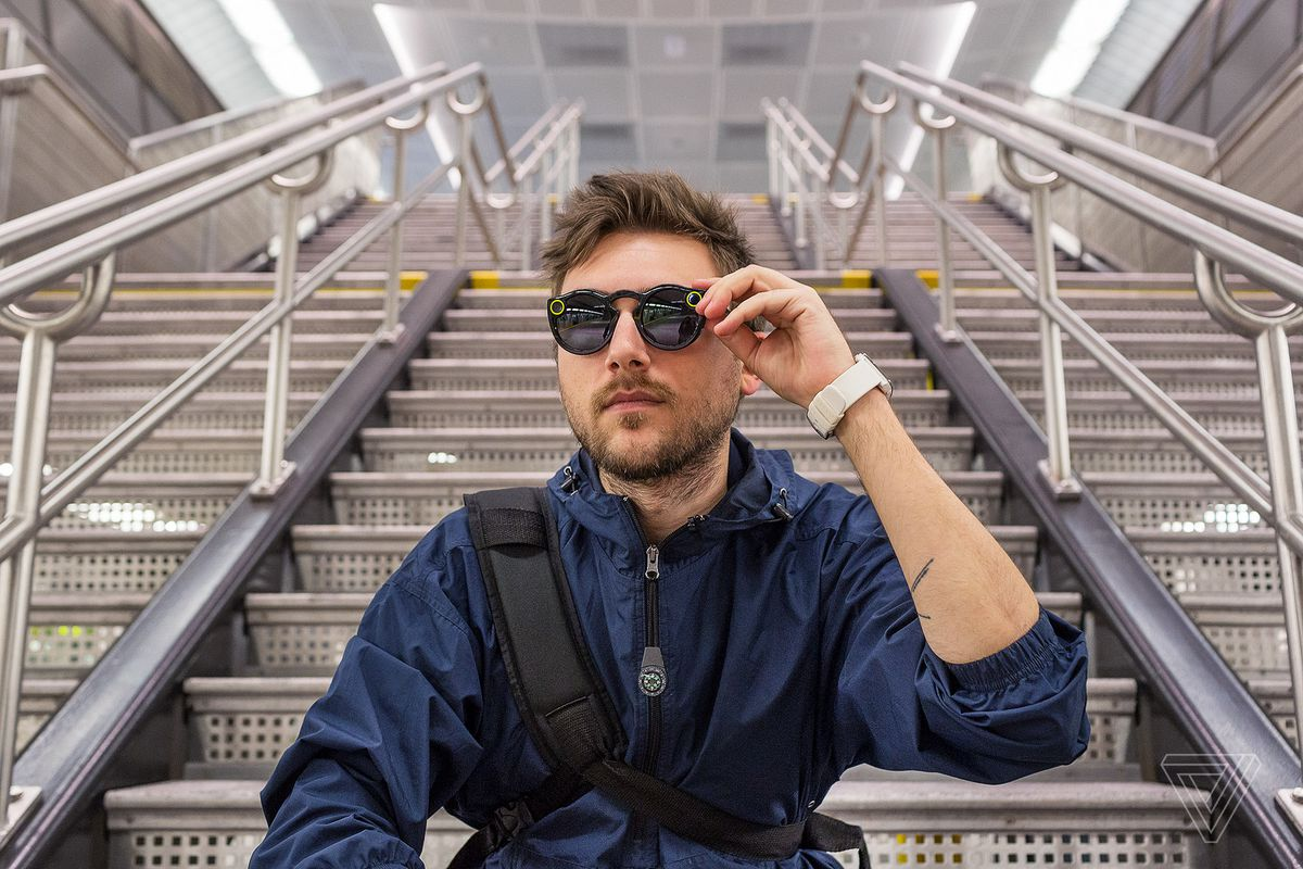 0d15e01625 Spectacles are the camera-equipped sunglasses that were introduced earlier  this year by the company formerly known as Snapchat. The glasses were  announced ...