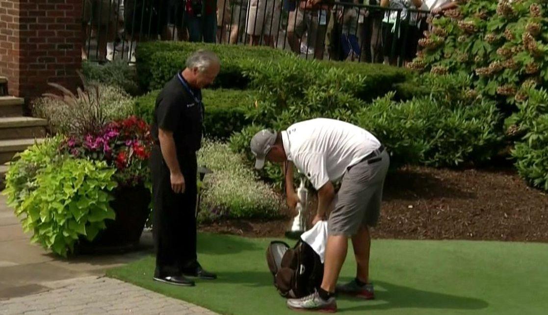 PGA Championship 2013: Flip-flop Phil Mickelson's Claret Jug is