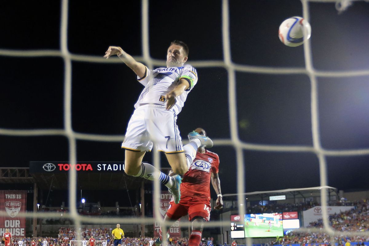Robbie Keane scored both goals in LA's 2-1 come-from-behind victory over FC Dallas