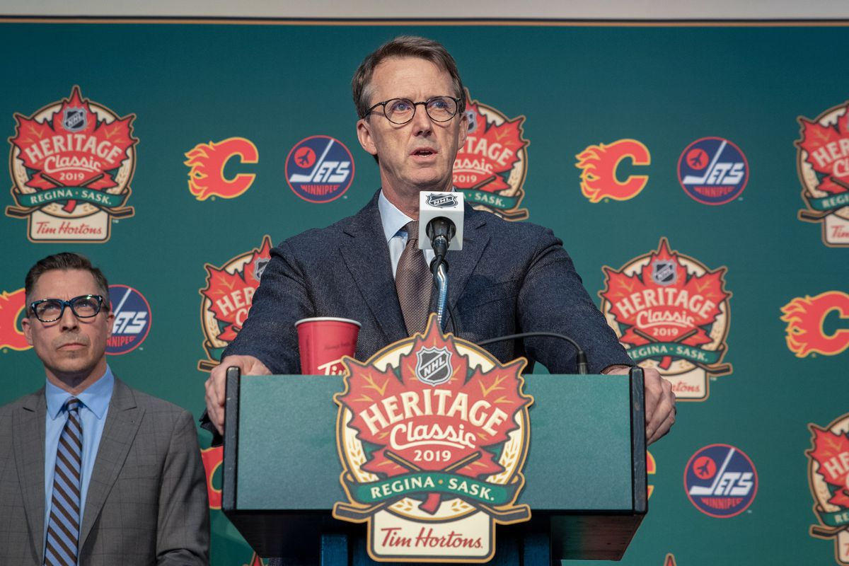 2019 Tim Hortons NHL Heritage Classic - Press Conference