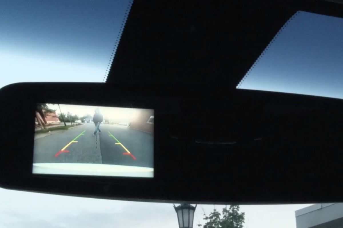 ford rear camera