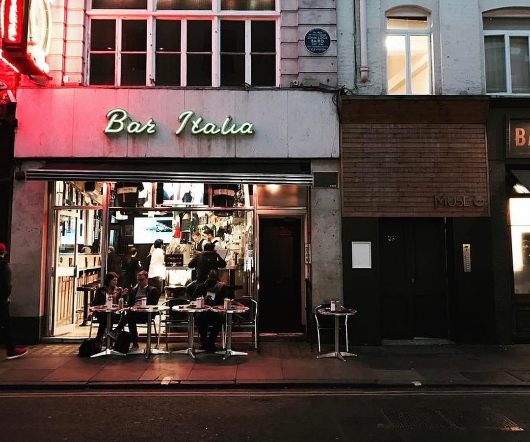 Bar Italia offers one of the most Italian experiences in London. And some of the bitterest espresso, too