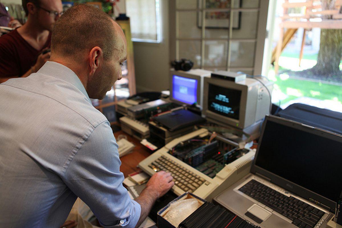 Jordan Mechner copying Prince of Persia source code