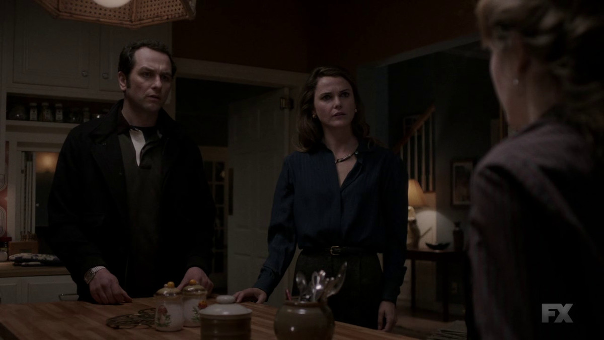 Philip (Matthew Rhys) and Elizabeth (Keri Russell) are able to present something of a unified front on The Americans.