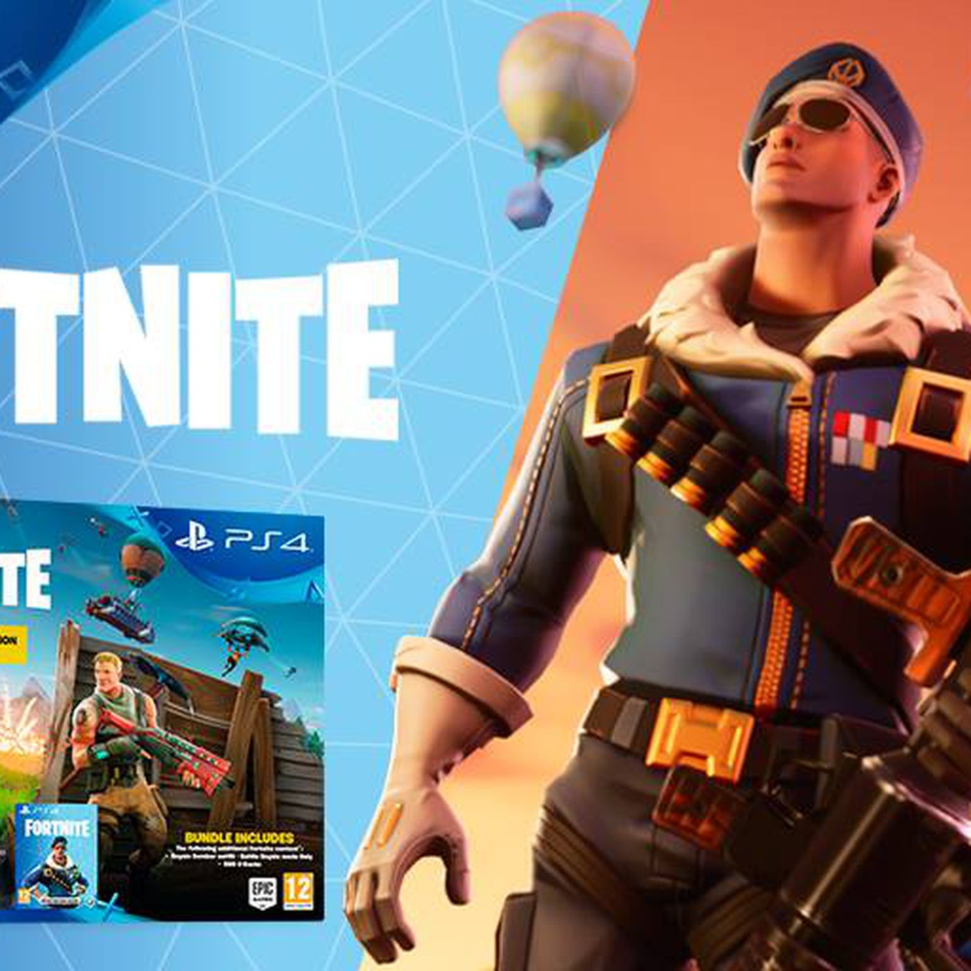 ee57b2654c23c Fortnite PS4 bundle to include new skin  Royale Bomber - Polygon
