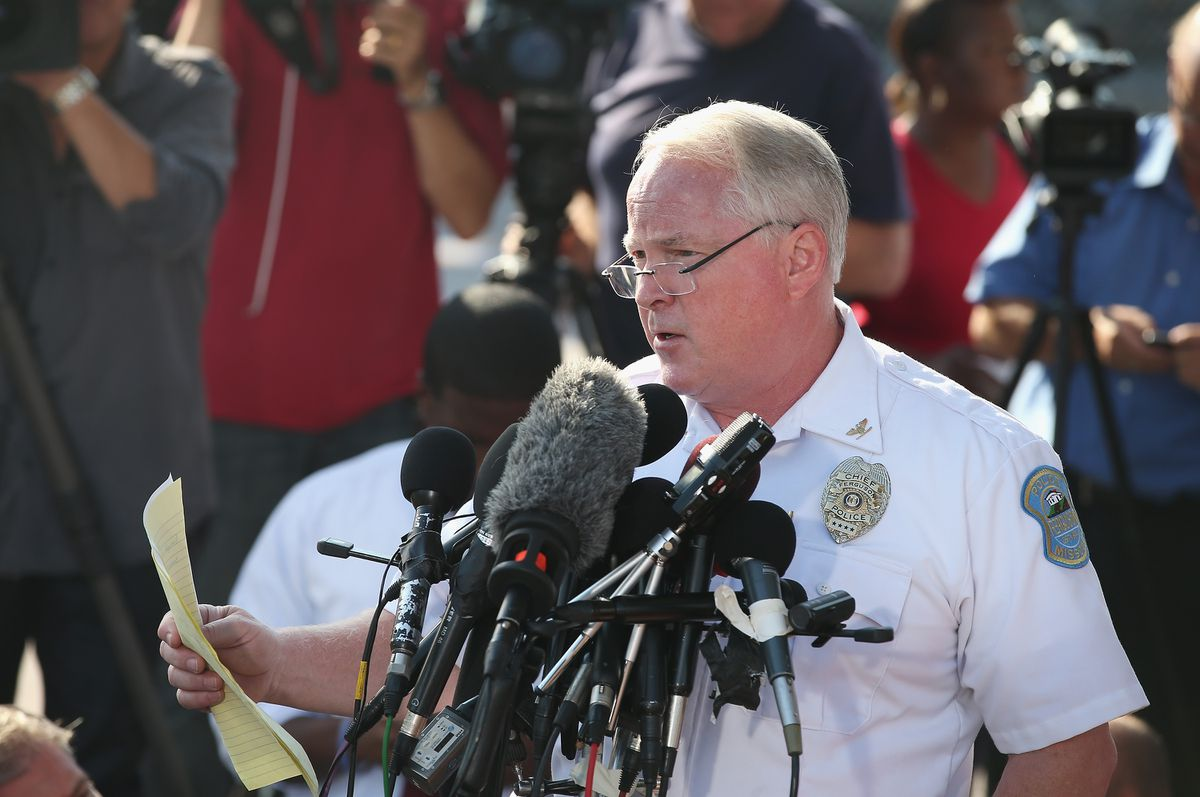 Chief Jackson Ferguson Press Conference