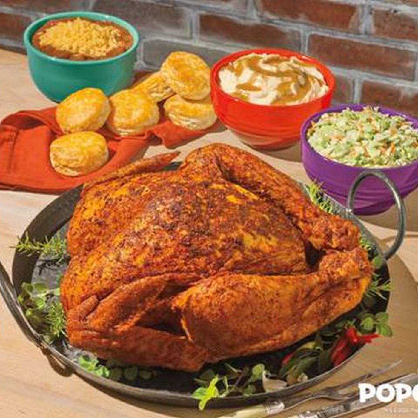 Popeyes Cajun Turkeys Back For Thanksgiving 2020 Pre Order Holiday Meals Now Chicago Sun Times