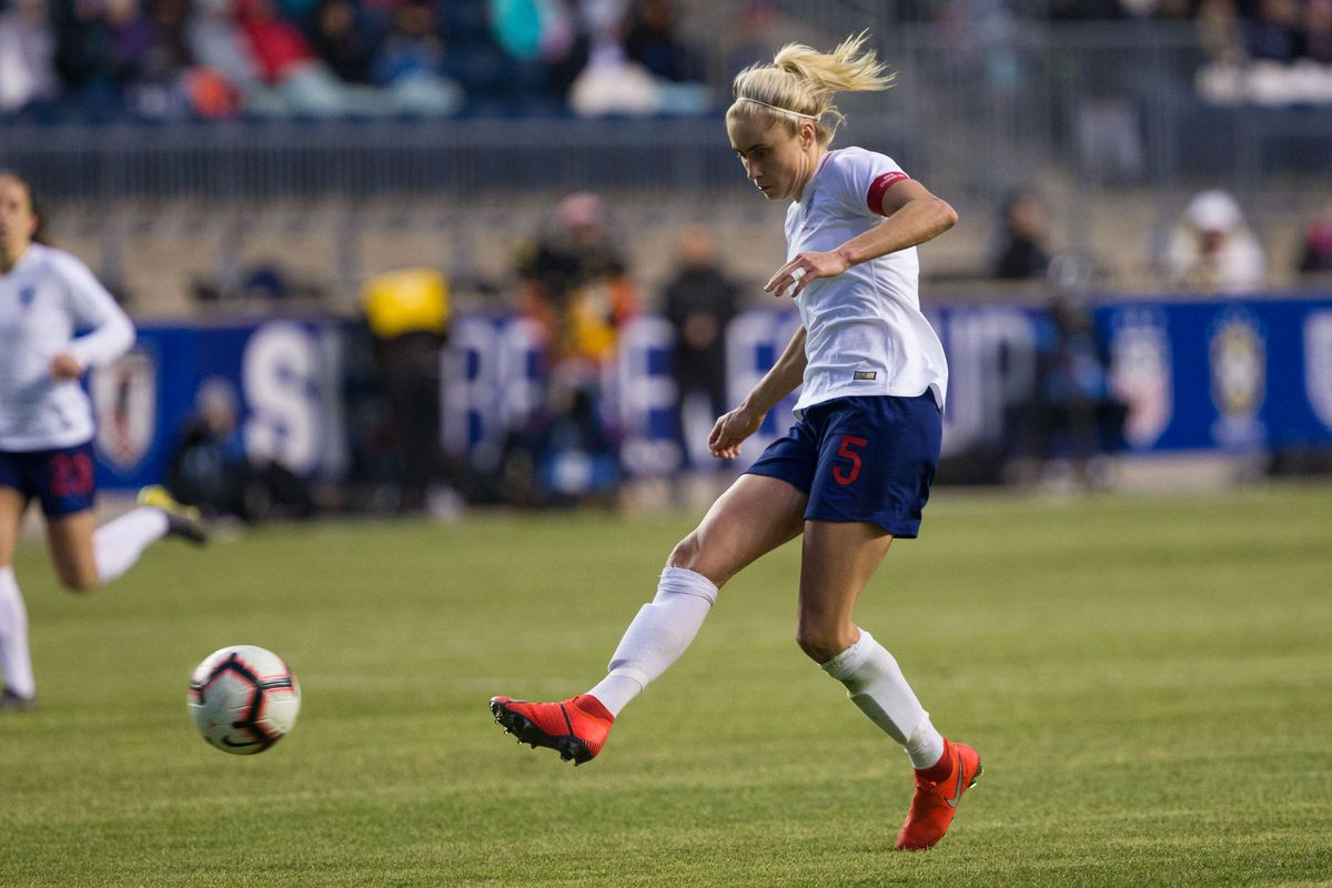 Soccer: She Believes Cup Women's Soccer-England at Brazil