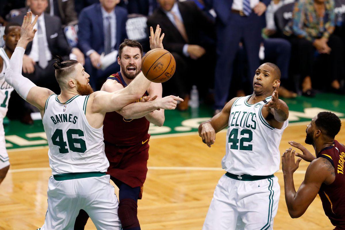 b5894ab1801 Celtics go big in win against Cavaliers - CelticsBlog