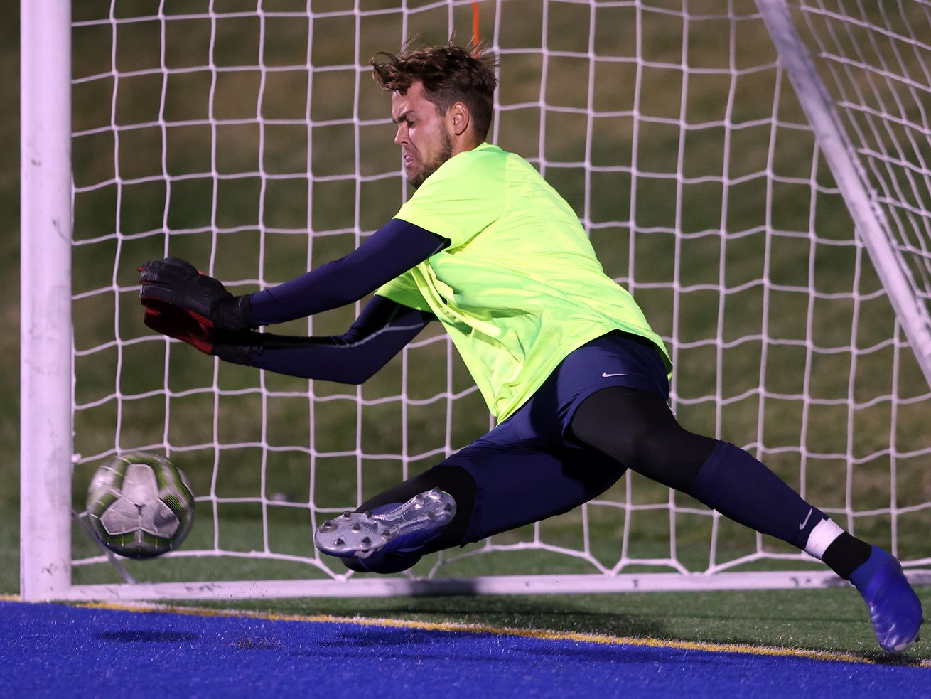 Juan Diego and Ogden play in a high school soccer game at Juan Diego on Wednesday, April 21, 2021. Juan Diego won 5-4 on penalty kicks.
