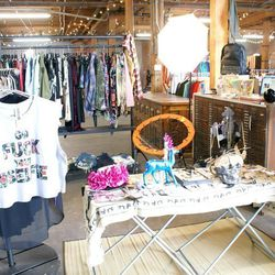 """Cool (and affordable!) e-shop <a href=""""http://shywilder.com/home/"""">Shy Wilder</a>'s pop-up at Arts District Flea."""