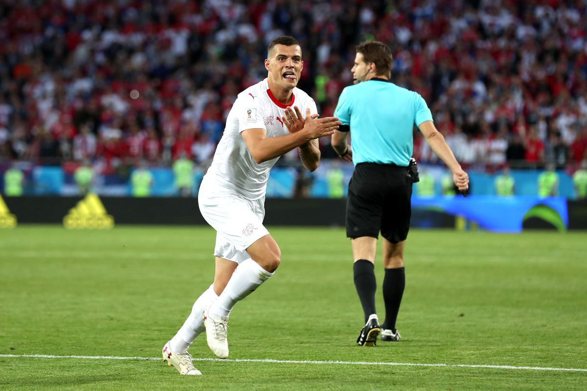 44206b83747 Switzerland stars Xherdan Shaqiri, Granit Xhaka avoid FIFA ban for  'Albanian Eagle' goal celebration