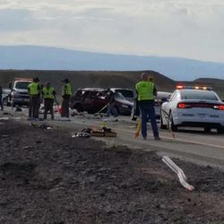 Four dead in accident involving human smuggling, UHP says