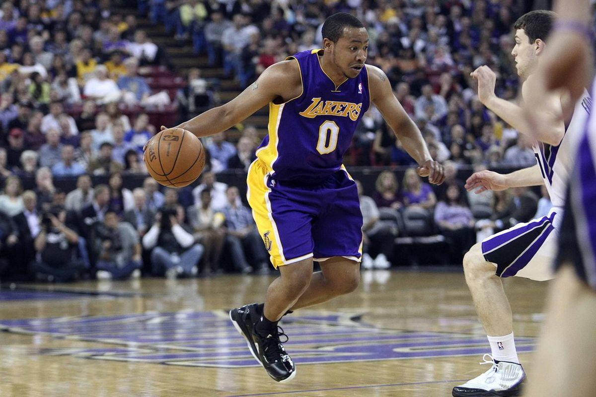 """Could """"Mini-Mamba"""" be a short-term answer for the Lakers point guard depth issues?"""