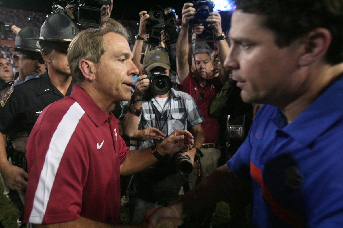 "<p zoompage-fontsize=""15"" style="""">Alabama at Florida football"