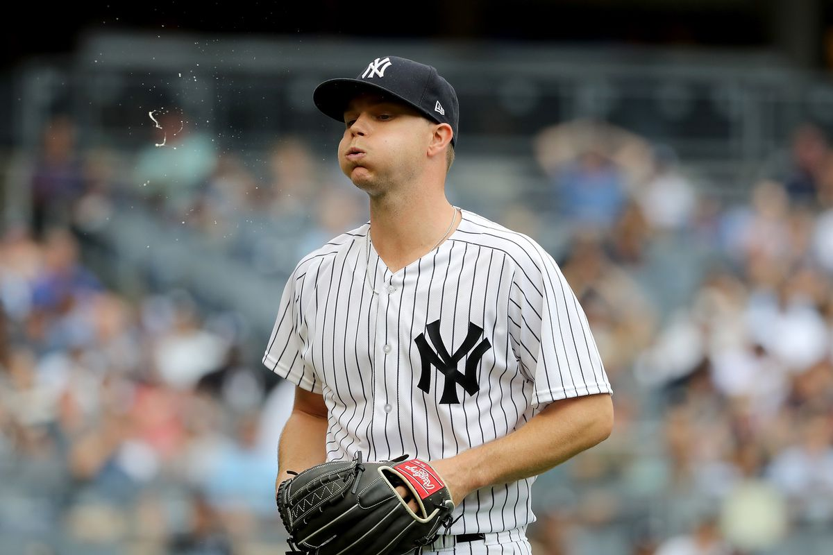 Sonny Gray was dropped from the Yankees rotation after his horrendous start against the Orioles on Wednesday.