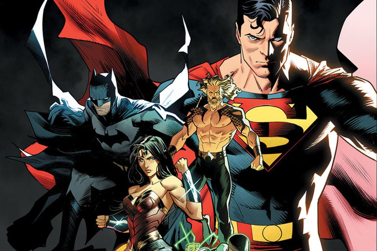 JUSTICE LEAGUE #45 cover