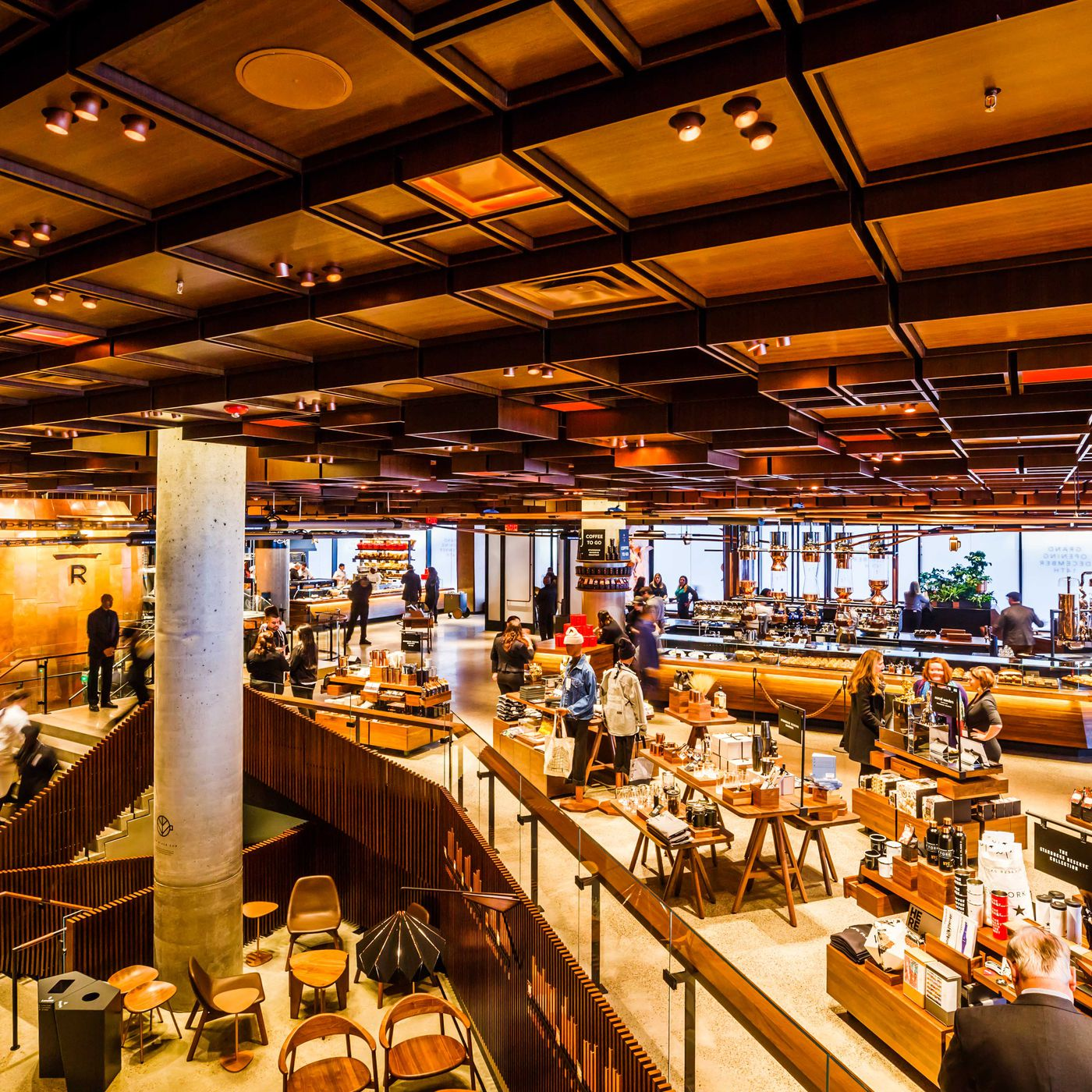 Starbucks Reserve Roastery Opens In Chelsea With 3 Stories