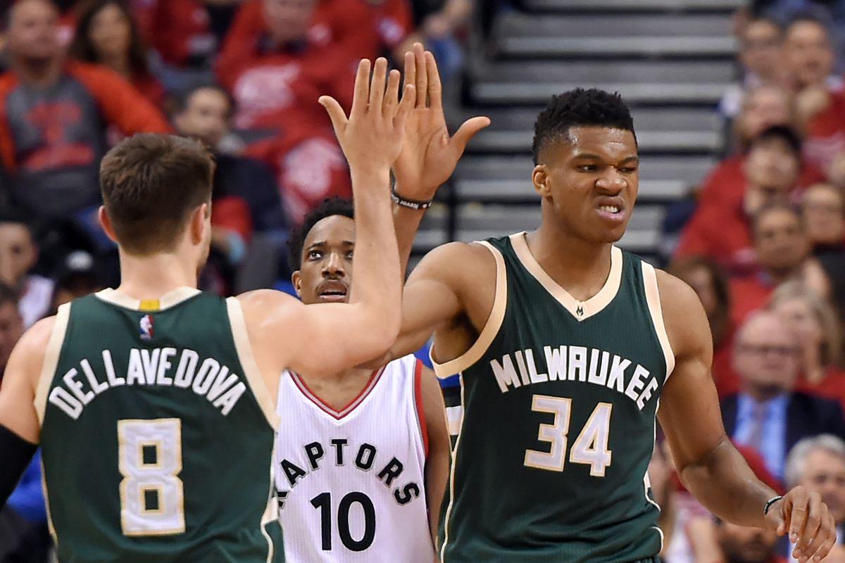 NBA: Playoffs-Milwaukee Bucks at Toronto Raptors