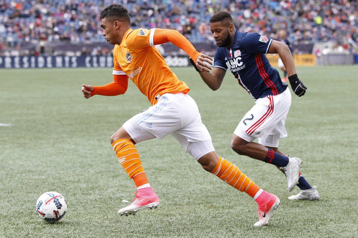 MLS: Houston Dynamo at New England Revolution