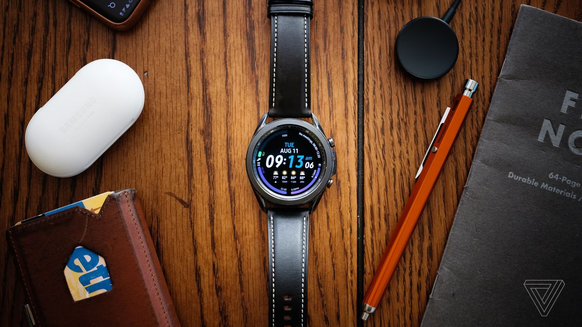 Samsung Galaxy Watch 3 Review Small Changes To A Known Formula The Verge
